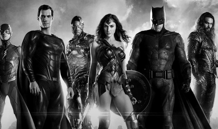 Zack Snyder's Justice League Header