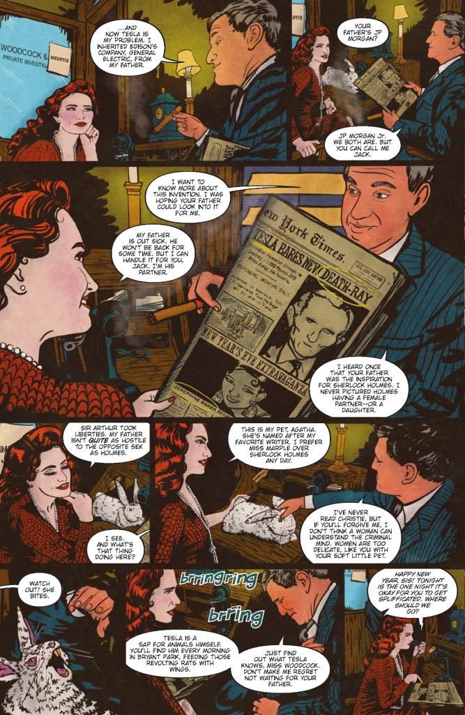 The Girl Who Electified Tesla Page 1