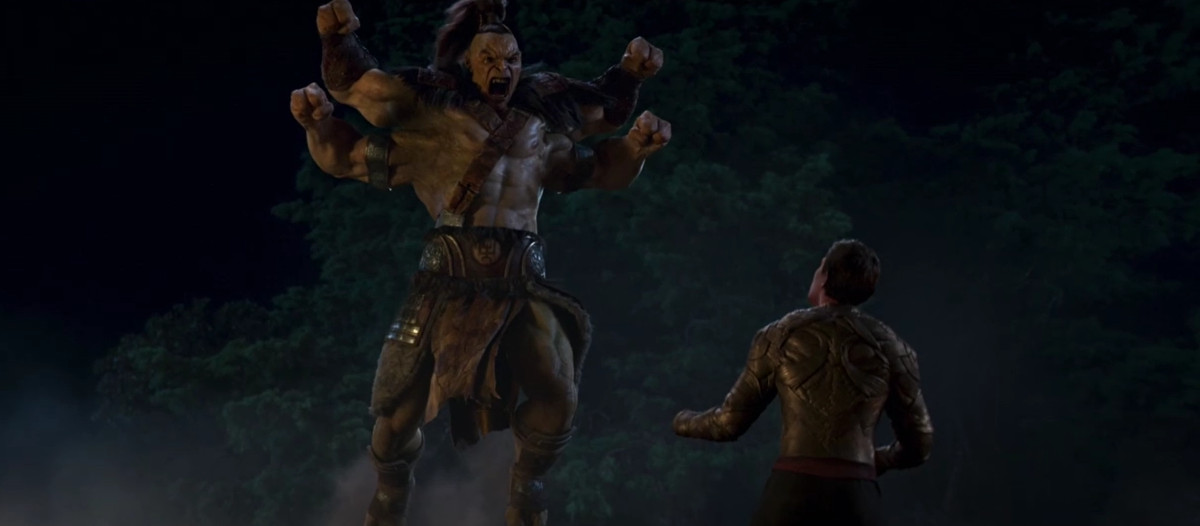 Mortal Kombat Gorgo vs. Cole Young