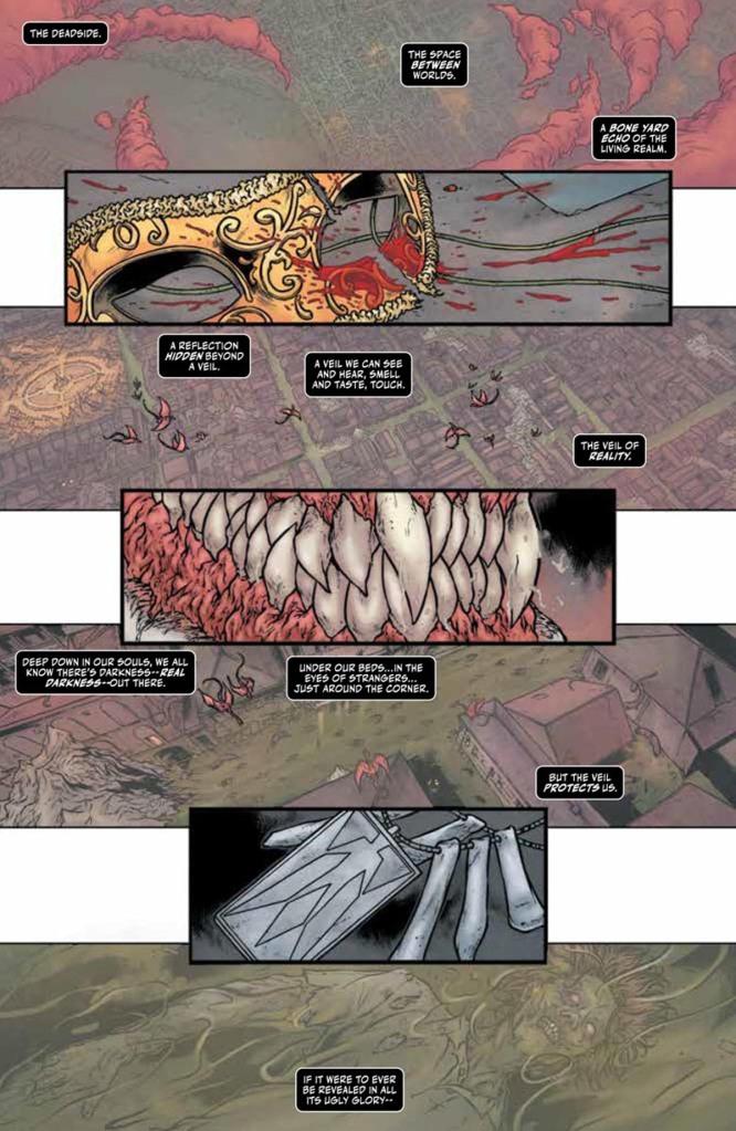Shadowman #1 Page 1