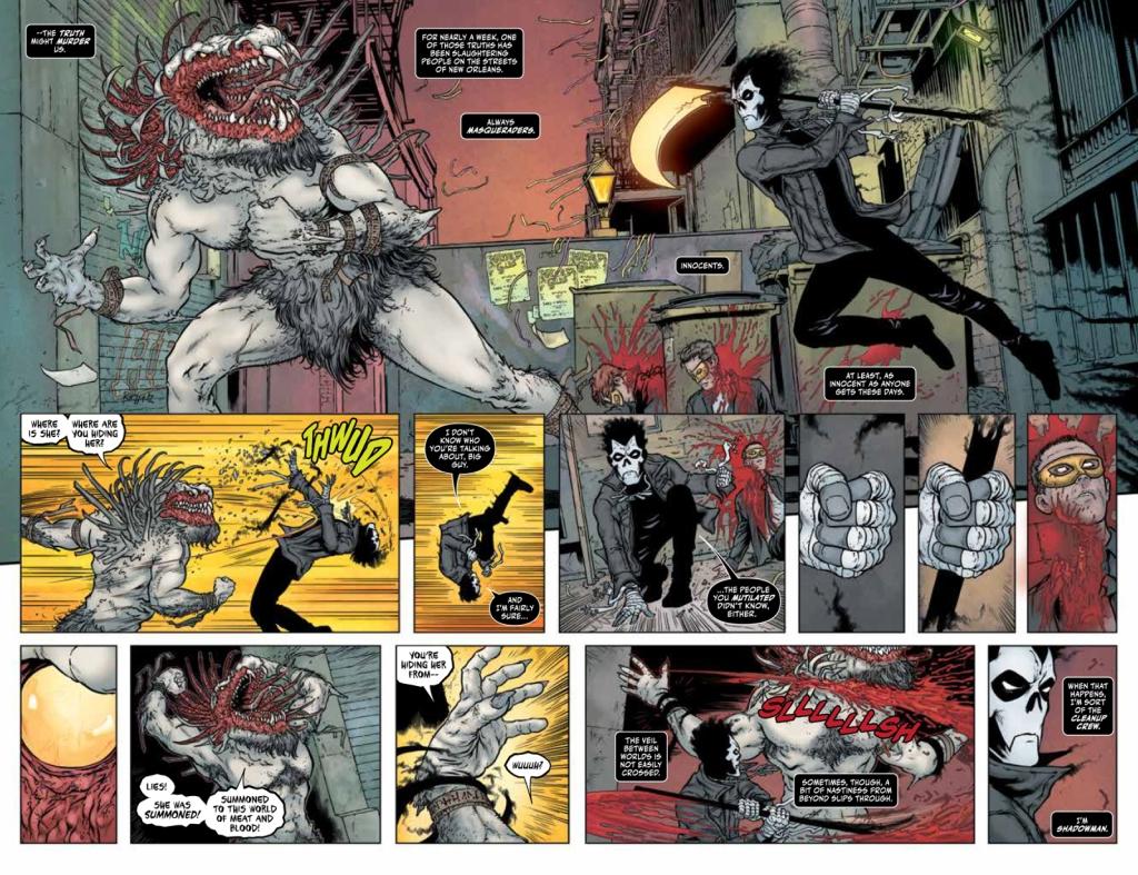 Shadowman #1 Page 2-3