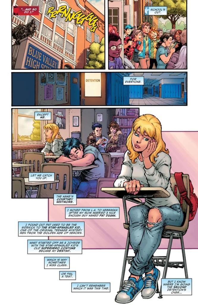Stargirl Spring Break Special #1 Page 1