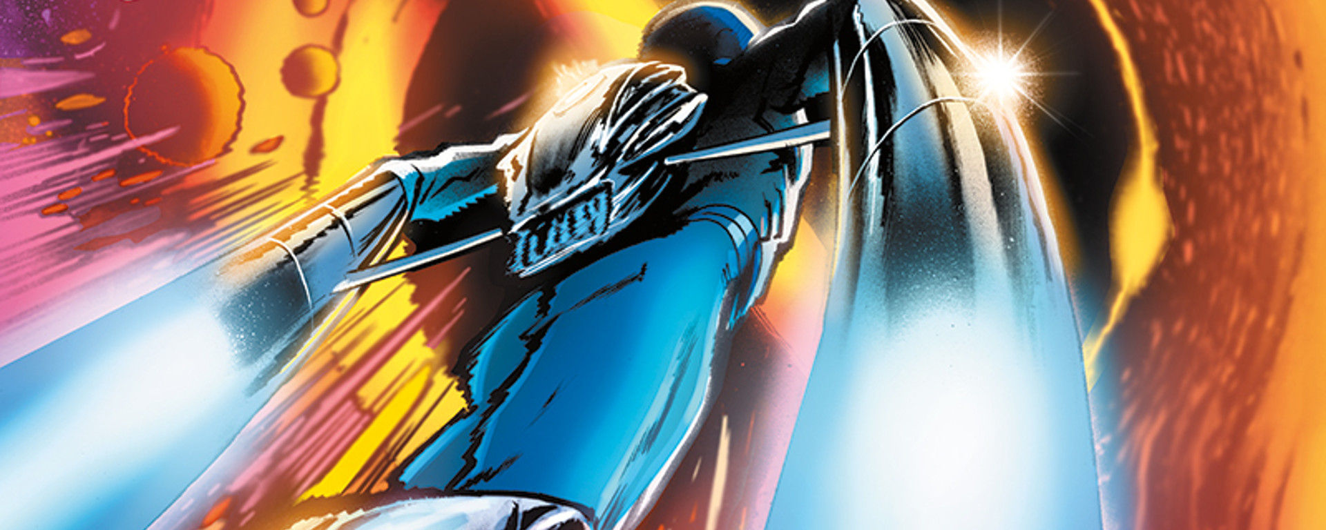 The Blue Flame #1 Header