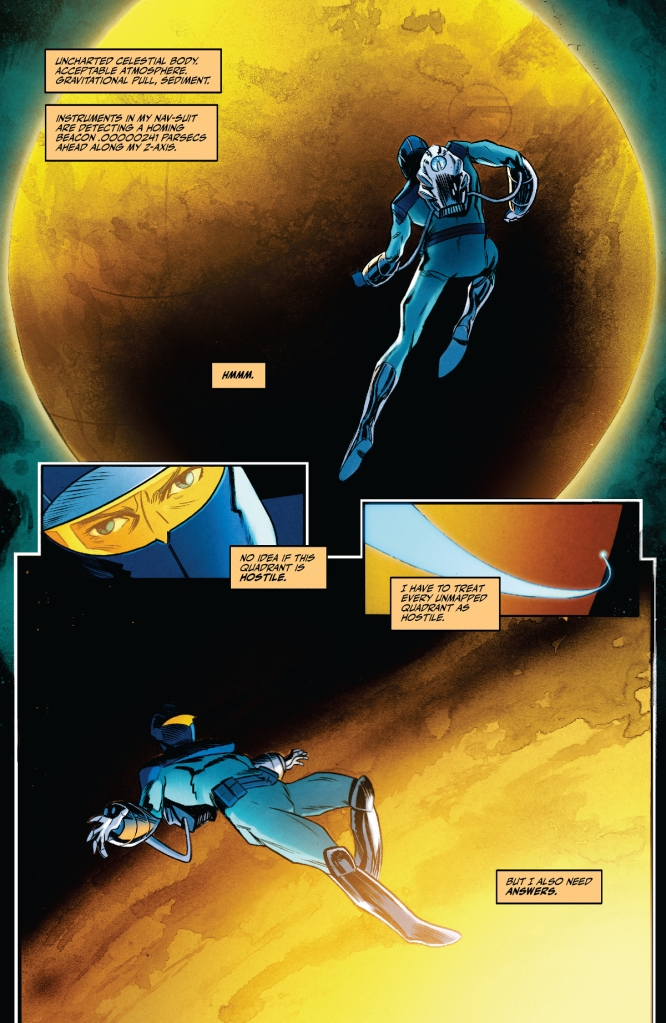 The Blue Flame #1 Page 1