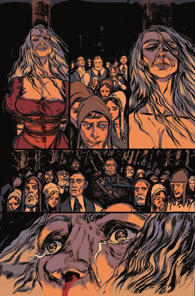 The Witcher Witch's Lament #1 Page 1
