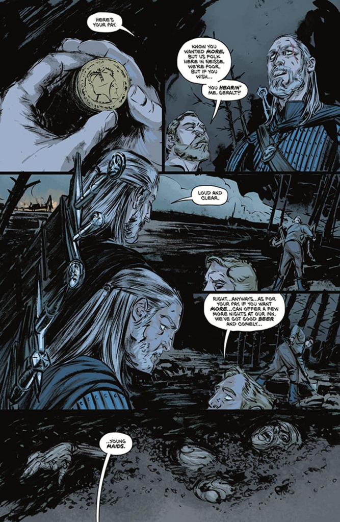 The Witcher Witch's Lament #1 Page 5