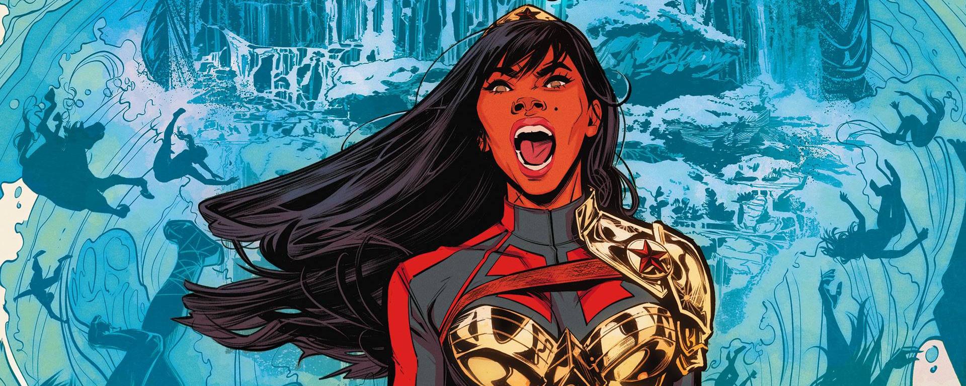 Wonder Girl #1 Header