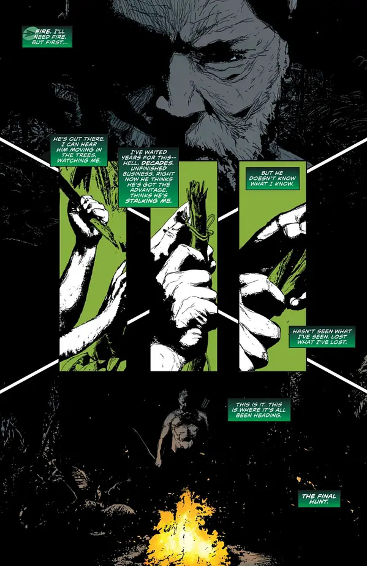 Green Arrow 80th Anniversary Special Page One