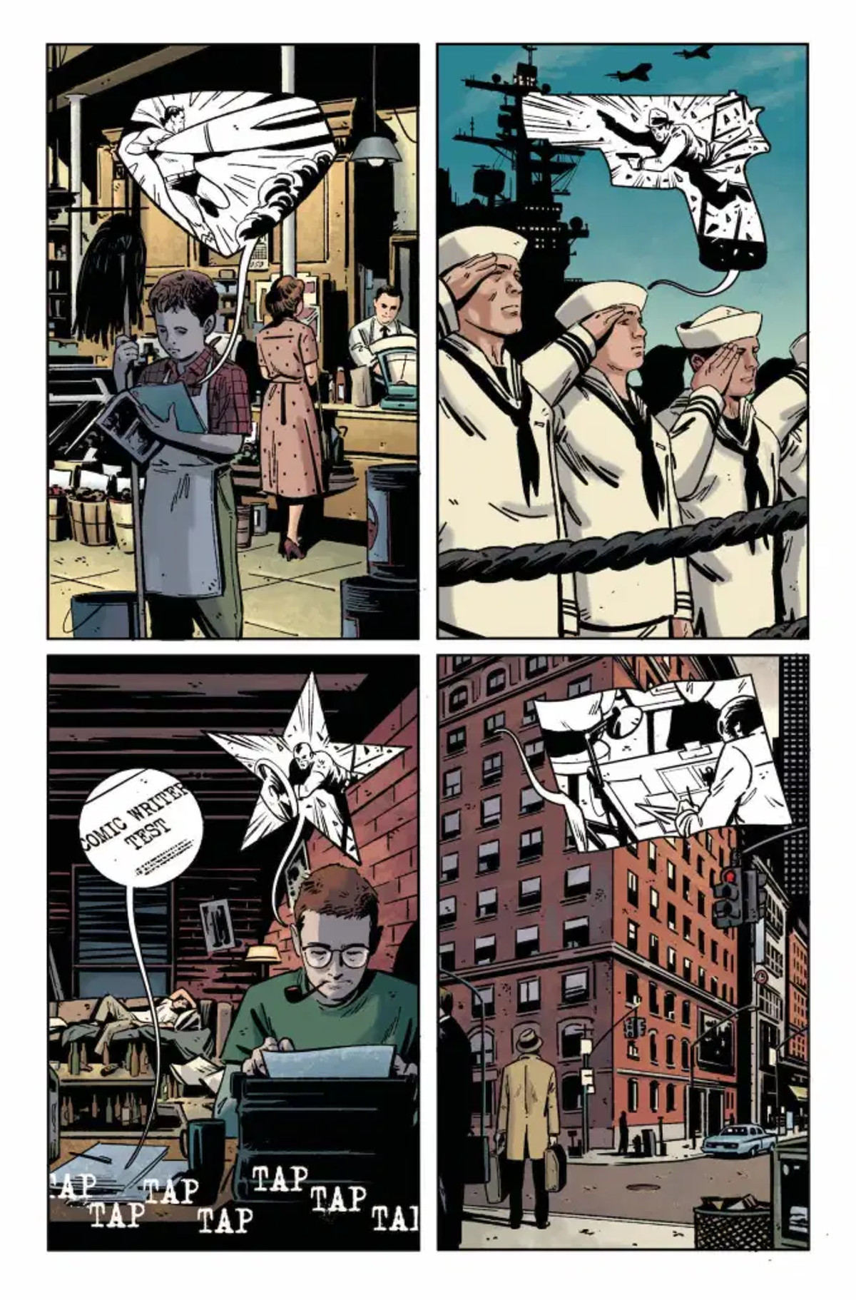 Green Arrow 80th Anniversary Special Page Three