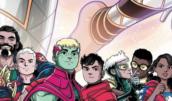 Marvel Voices Pride #1 Header