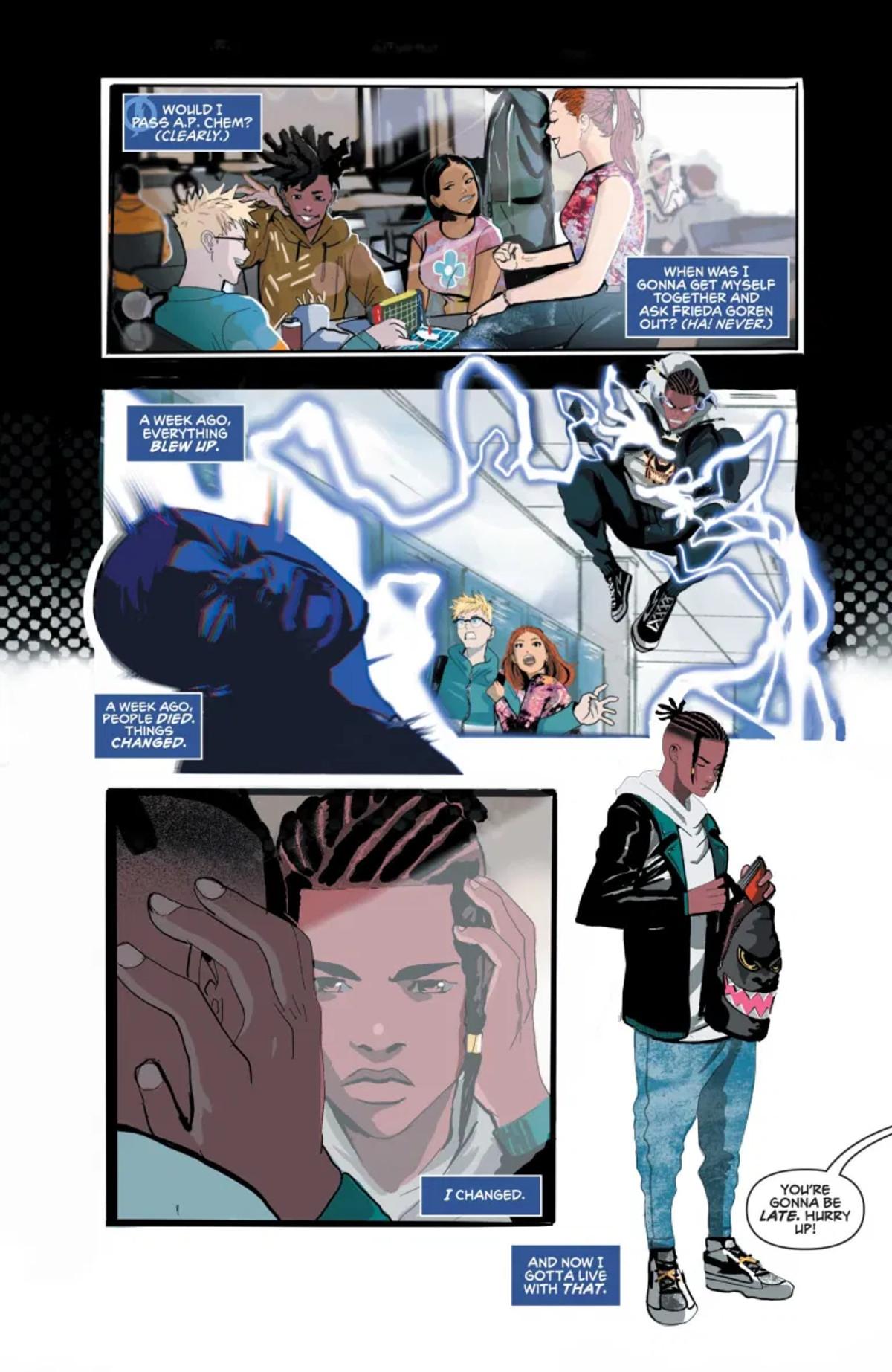 Static Season One #1 Page 1