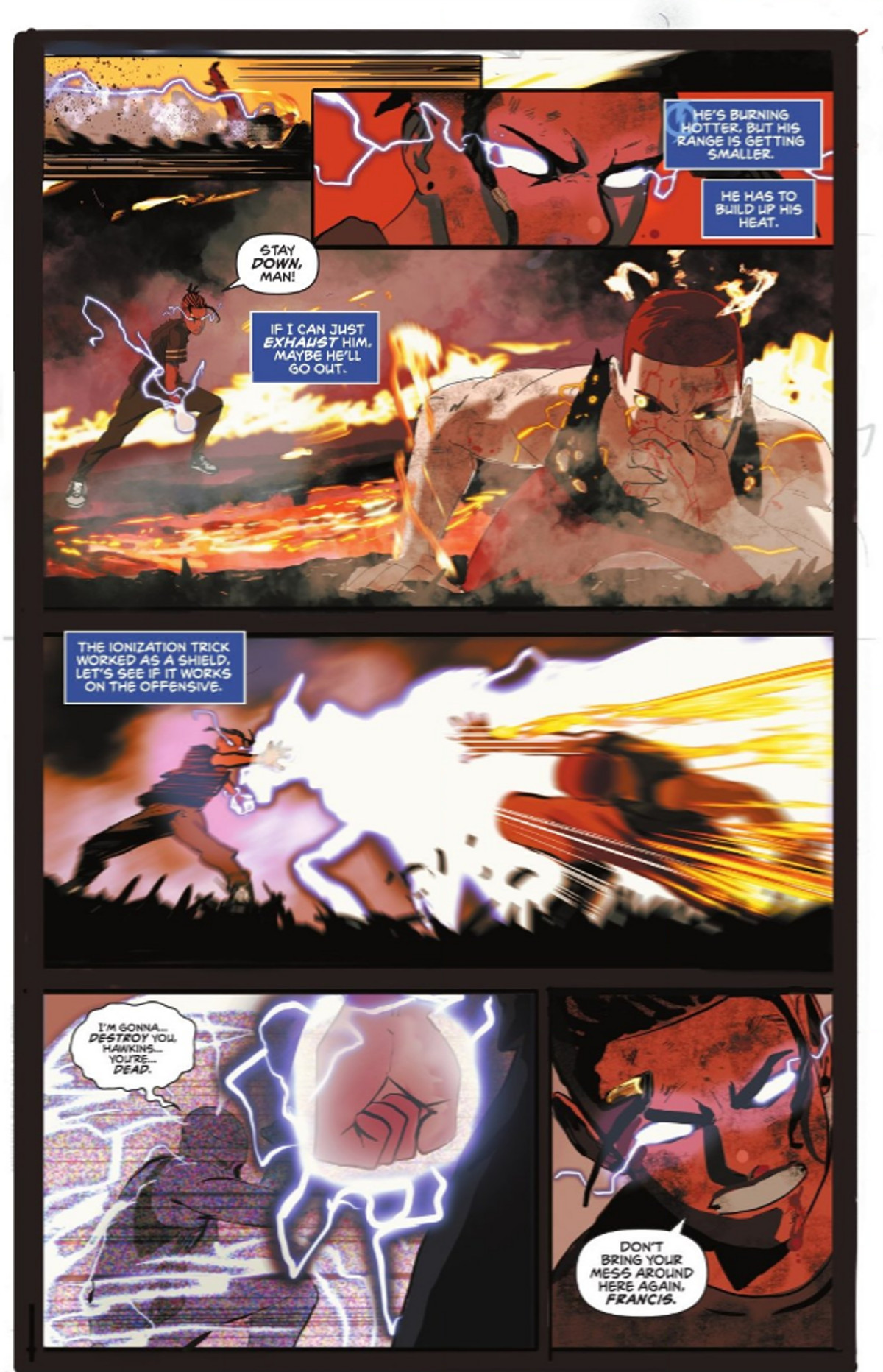 Static Season One #1 Page 2