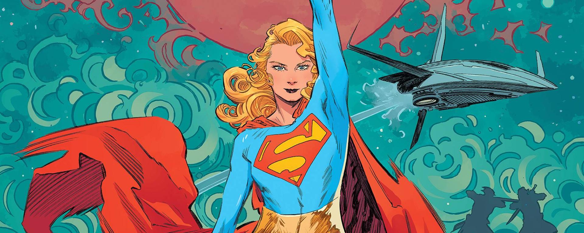 Supergirl Woman Of Tomorrow #1 Header