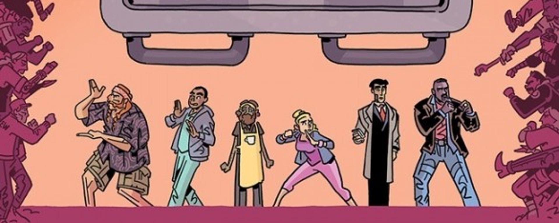 The Six Sidekicks of Trigger Keaton #1 Header