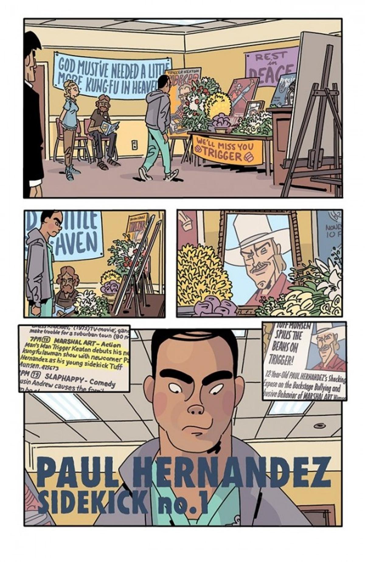 The Six Sidekicks of Trigger Keaton Page 1