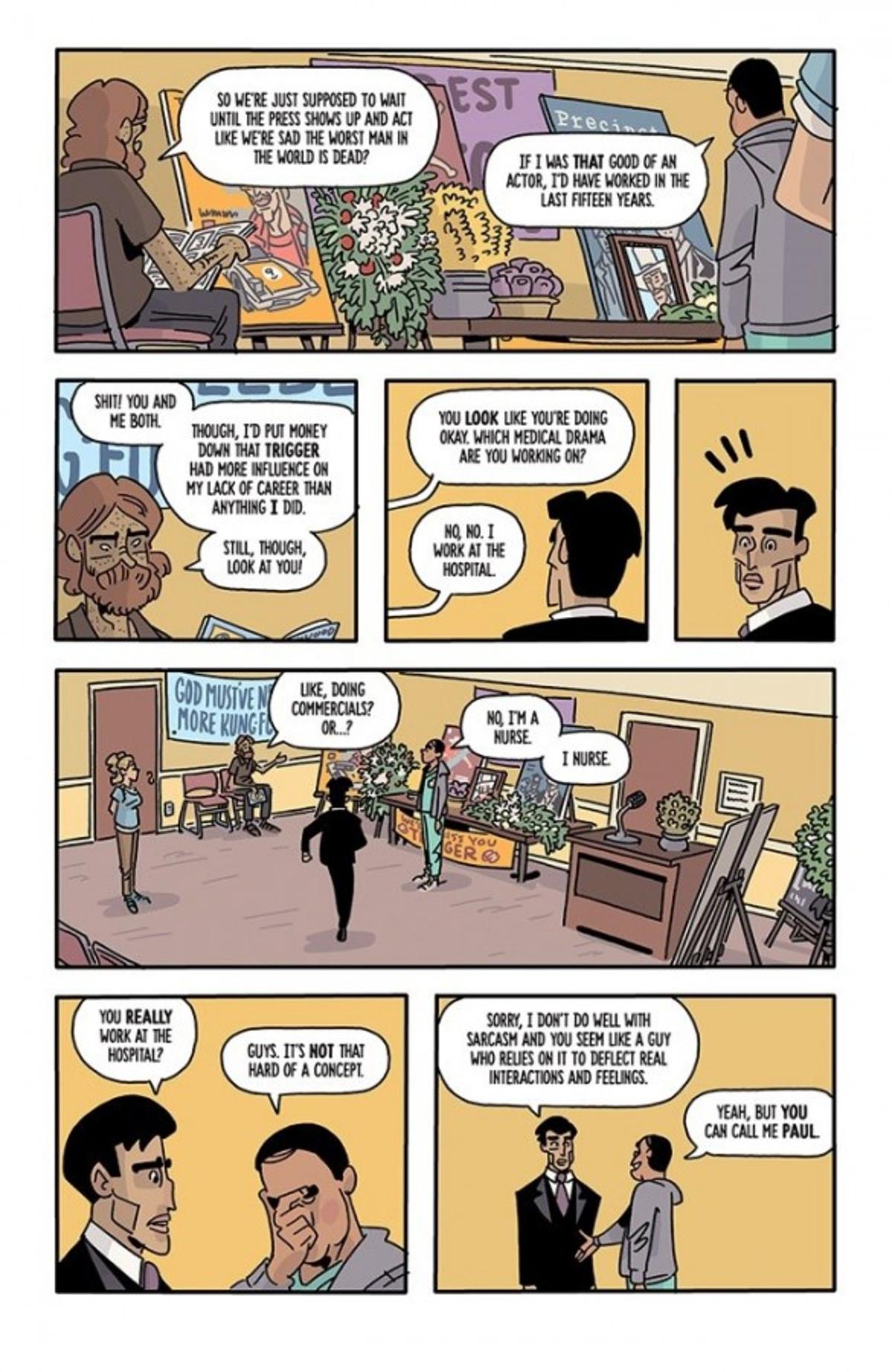 The Six Sidekicks of Trigger Keaton Page 2