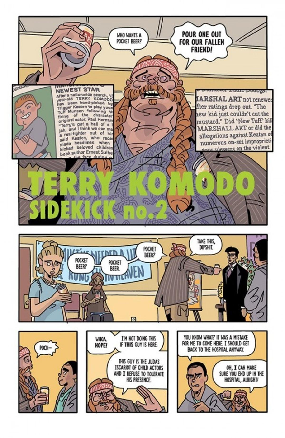 The Six Sidekicks of Trigger Keaton Page 4