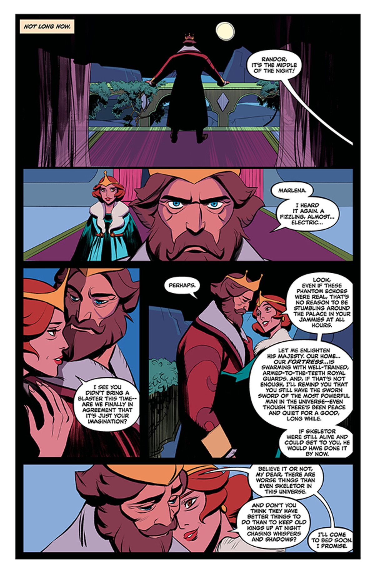 Masters of the Universe Revelation #1 Page 1