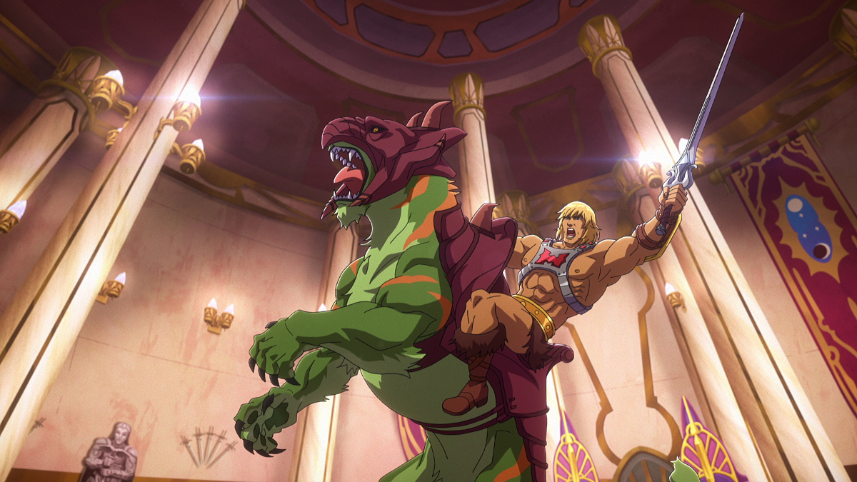 Masters of the Universe Revelation He-Man and Battle Cat