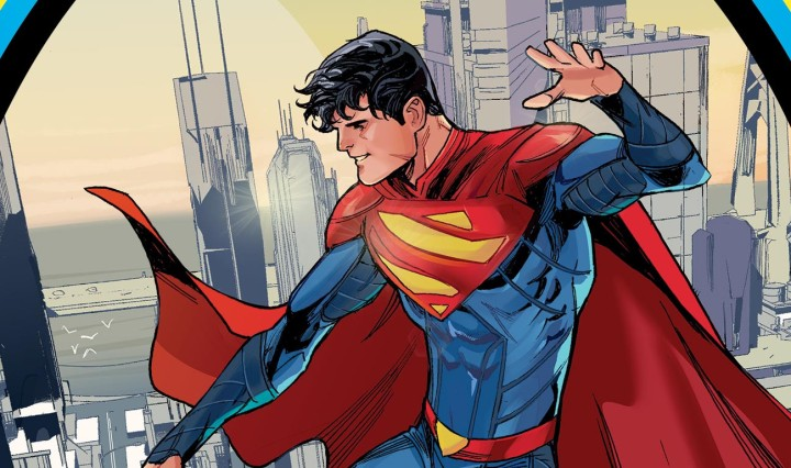 Superman, Son Of Kal-El #1 Header