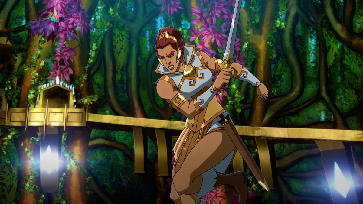 Teela in Masters of the Universe Revelation