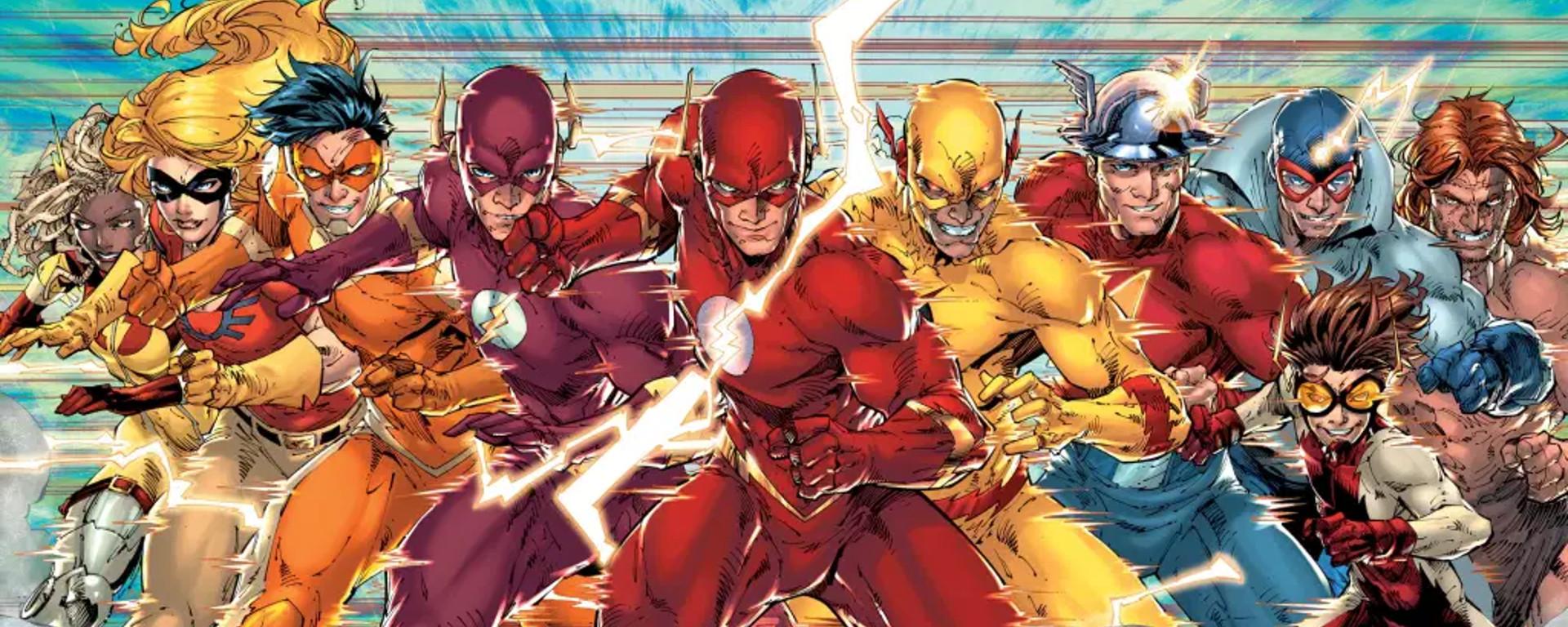 The Flash Annual #1 2001 Header