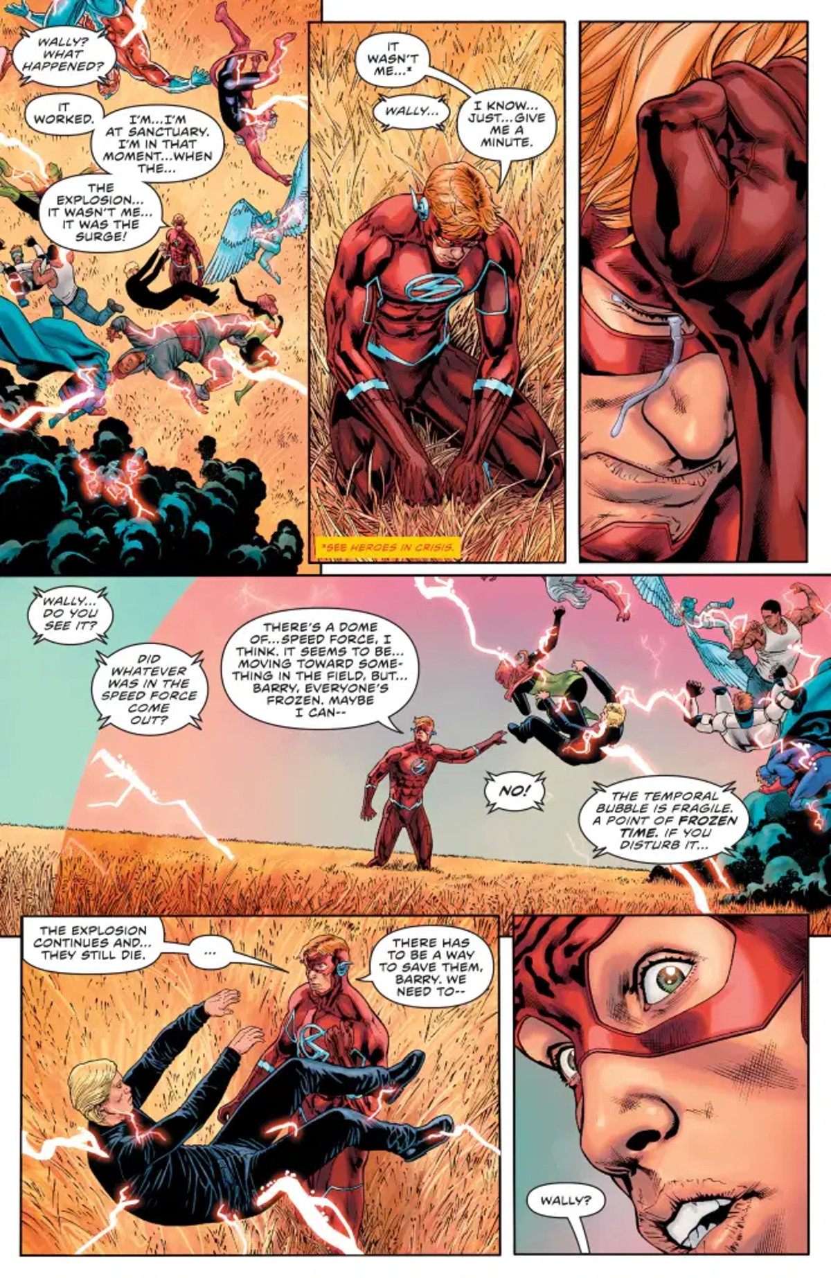 The Flash Annual #1 2001 Page 1