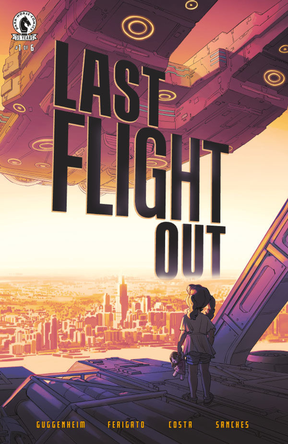 Last Flight Out #1 Cover