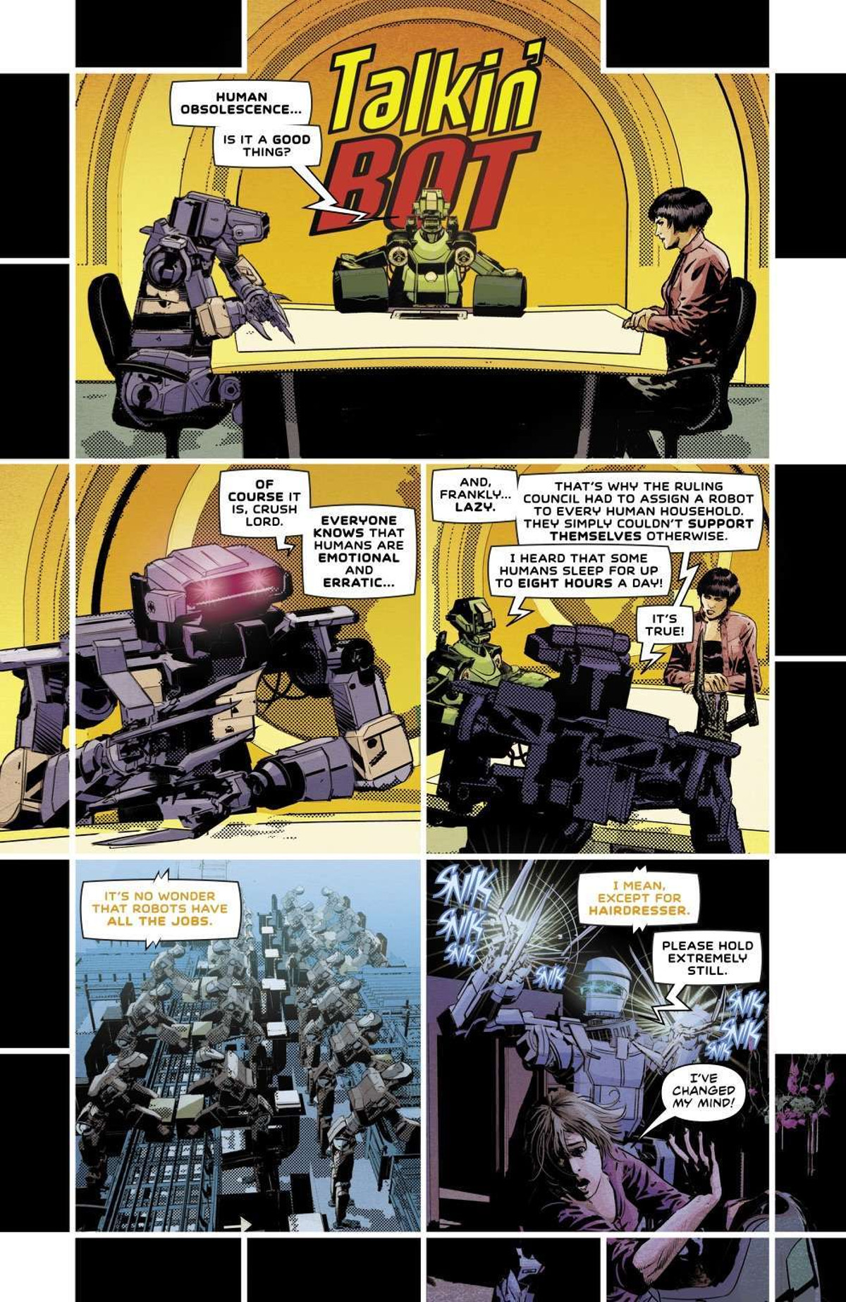 Not All Robots #1 Page 1