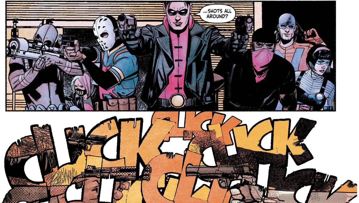 Suicide Squad Get Joker #1 Page 1