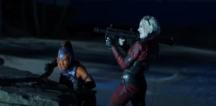 The Suicide Squad Harley Quinn and Mongal