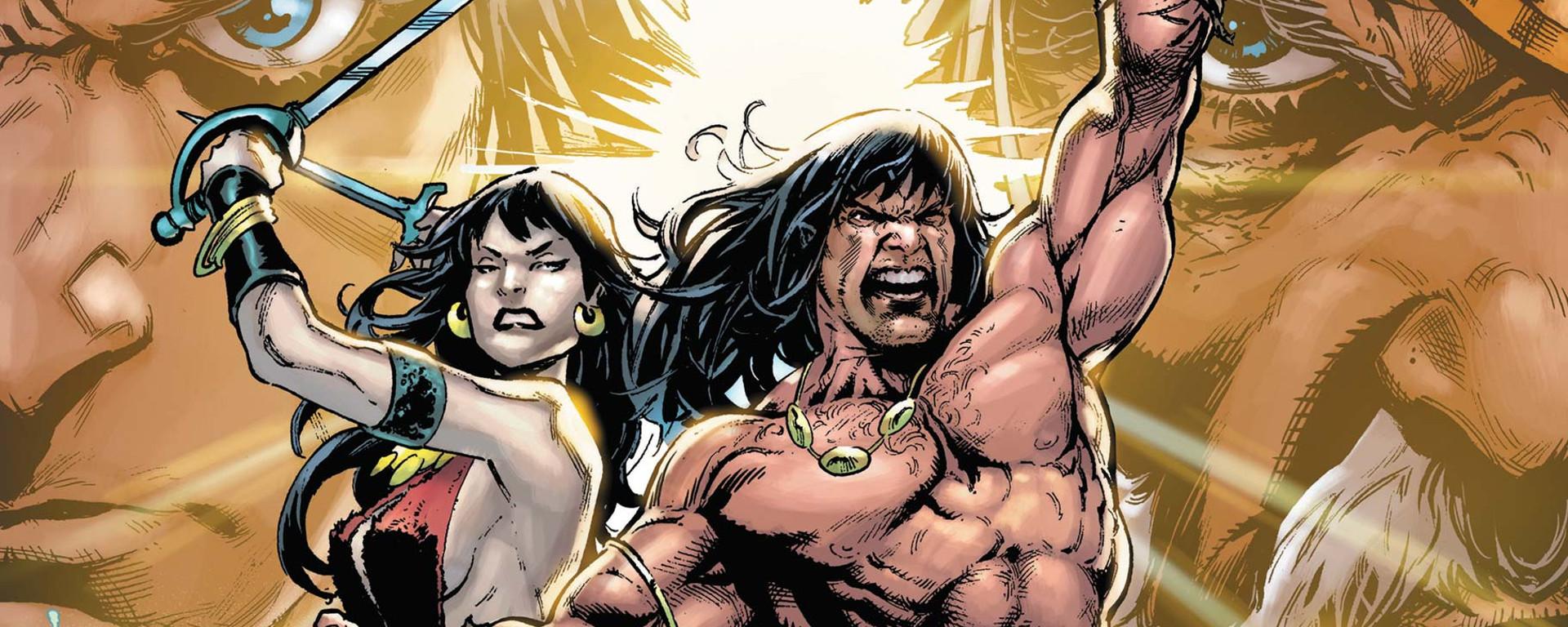 Conan The Barbarian #25 Header