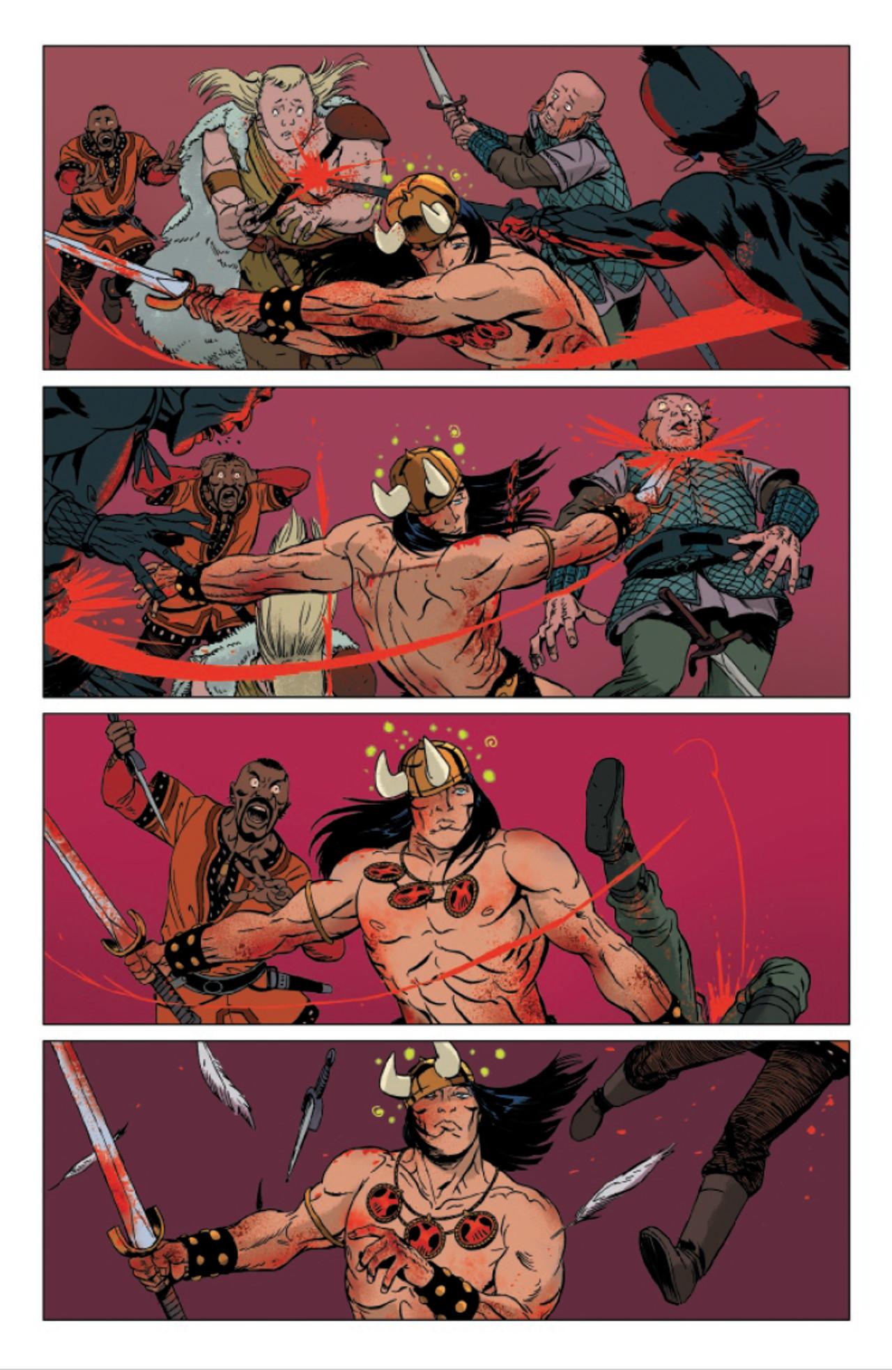 Conan The Barbarian #25 Page 25