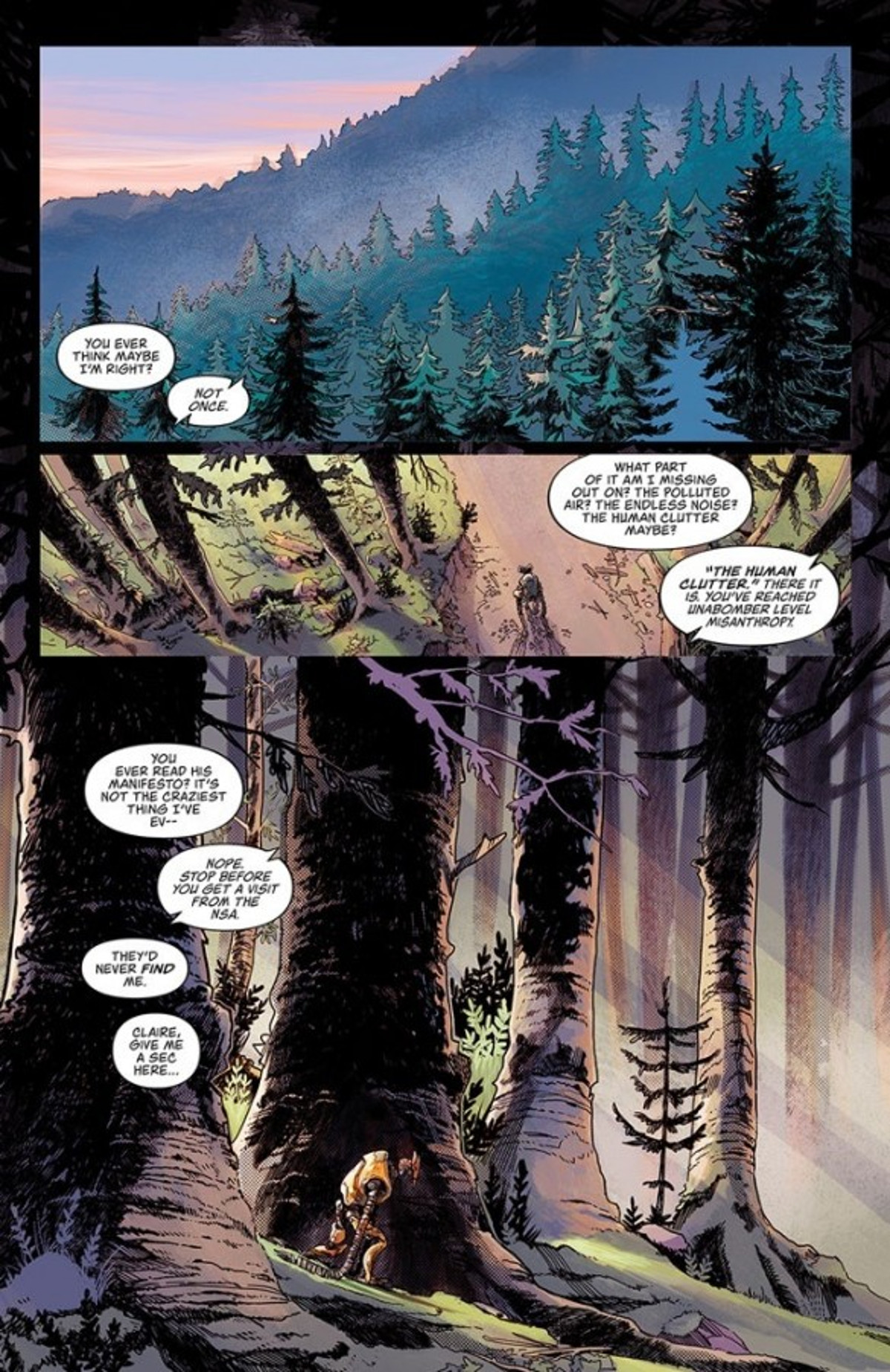 Frontiersman #1 Page 1