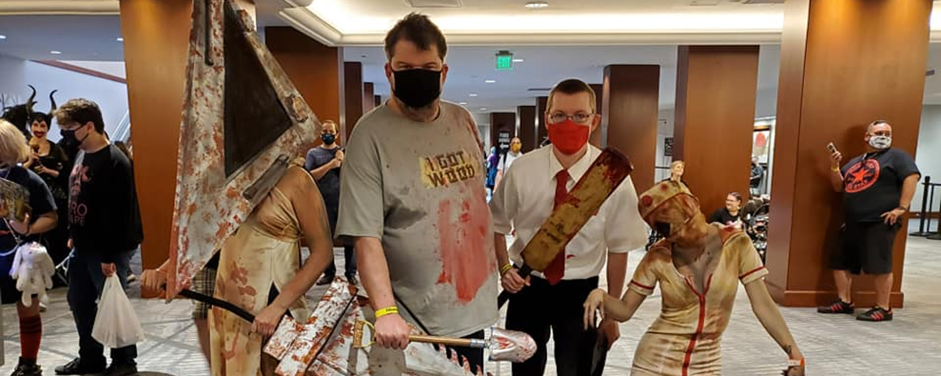 Texas Frightmare Weekend 2021 Header